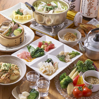 パーティコース(全9品)2H飲み放題付4500円→3900円