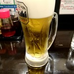 麻婆まぜそば 麻ぜろう - 生ビール