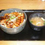 豚壱 - 豚丼(並) 600円