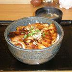 豚壱 - 豚丼(並)