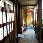 九頭龍蕎麦 - お店の入り口