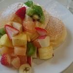 幸せのパンケーキ - フルーツパンケーキ@1390