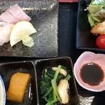 新鮮居酒屋 かずき - 昼の定食850円
