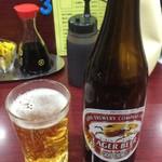 レストラン ポパイ - 瓶ビール中瓶 550円