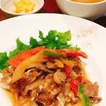 欧風食堂Kaede - おすすめランチ・豚肉照り焼きマヨソテー