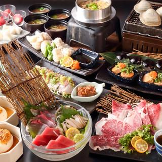 お得なフルコース料理が2980円より♪飲み放題も選べます!
