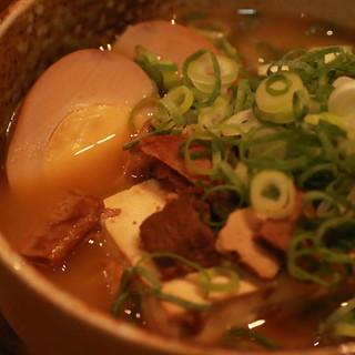 播州うぶ煮込み豆腐