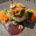 プリムローズガーデン ガーデンカフェ - 牛肉の赤ワイン煮 コロッケ仕立て