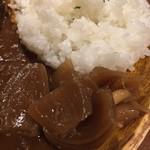 ブルックスカレー食堂 - なんと福神漬けも札幌黄です。