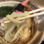 蕎麦処 三喜 - 麺アップ