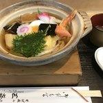 蕎麦処 三喜 - 鍋焼きうどん