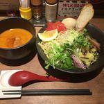 つけめん・らーめん 海老鶏麺蔵 - 海老つけ麺+味玉