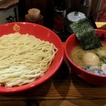 75624206 - 味玉豚鶏つけめん 中盛 900円 2017/10/29