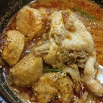 ラーメン哲史 - 芝麻辣つけ麺・若鶏つくね増し