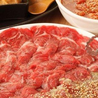 羊肉独特の臭みが無い、柔らかく究極の網焼きジンギスカン専門店