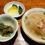 京田村 - 小鉢各種