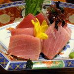 京田村 - まぐろ刺身