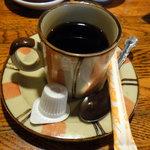 京田村 - 食後のサービスコーヒー