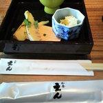 7563805 - 季節の前菜三点盛り/湯葉膳