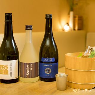 人気銘柄、季節酒、レア物など、全国の酒蔵の魅力の味が集う