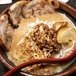75633321 - 北海道味噌 味噌漬け炙りチャーシュー麺 ‥1,000円