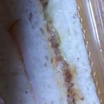 プチブラウン - 納豆サンド(正式名称失念)