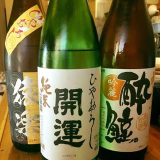 串揚げに合う美味しい日本酒はすぐに入荷!