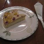 大正館 - さつまいものチーズケーキ