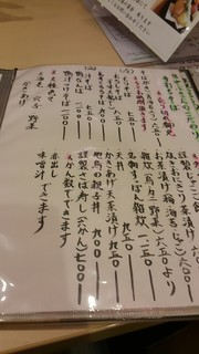 片町 弥ひろ - メニュー