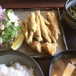 彩湖庵 - わかさぎフライ定食