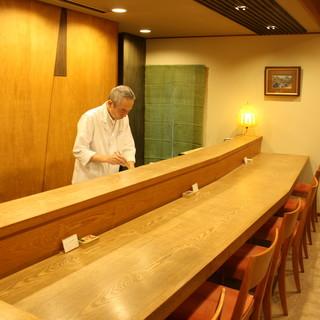 大阪の味吉兆で修業した店主が振るう懐石料理