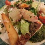 Bistro TOKI - 旬鮮魚のニース風サラダ