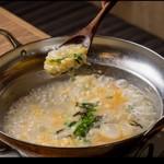 追加トッピング・雑炊セット ご飯、玉子、刻み海苔、薬味