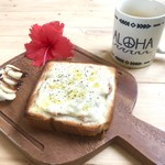 海小屋 シェイブアイス & カフェ - 海小屋トースト