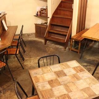 """""""ホッ""""と一息♪カフェの名残を感じられるオシャレ空間"""