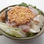 板前寿司 - あん肝鍋