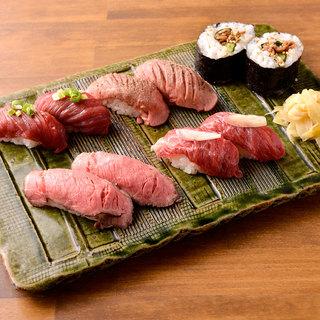 魚やってません、それが「肉寿司」