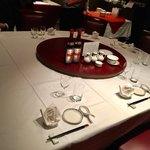 ホテルオークラ レストラン横浜 中国料理 桃源 - テーブルセッティング