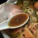 一条流がんこラーメン 総本家 - 旨味が詰まったタレ無しスープ
