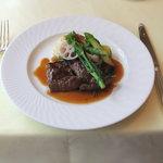 シェ・アキラ - 2011/3/28 牛ランプ肉のグリエ