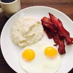 オーガニックグリッツ&お好きな卵料理