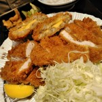 かつ久 - かつ久定食¥1390