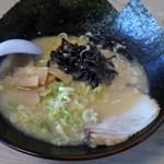 龍神 - 料理写真:龍神らぁめん(炊き出しとんこつ醤油味)
