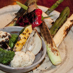 シャモロック酒房 - 焼野菜盛合せ