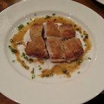 ワンドロップカフェ - 大山もも肉のロースト柚子胡椒のソース