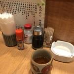 花のれん - お茶と、調味料