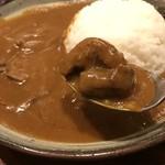 じょっぴんや - 牛肉たっぷりの豪華欧州カレー、東播エリアではトップクラスかと・・・(2017.10.31)