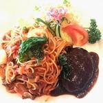 レストラン 三の丸 - 料理写真:コンビナポリタン