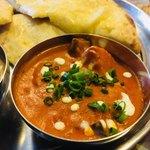本格インドカレーChai - ナスとじゃが芋のカレー。トマトの旨味が詰まった濃厚なカレー