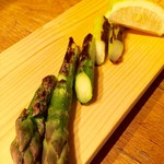 野菜の炭火焼き 各種
